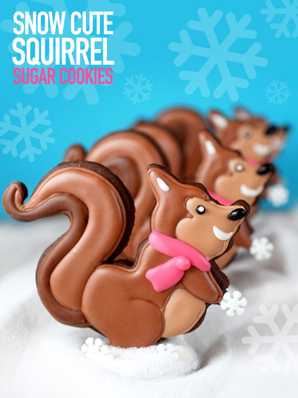 Woodland Squirrel Cookies