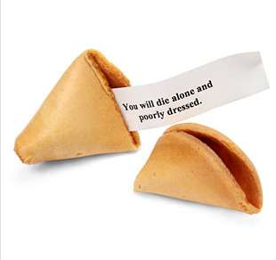 Cookie Misfortune Evil Cookies
