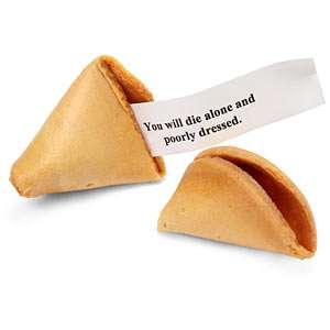 cookie misfortune evil fortune cookies