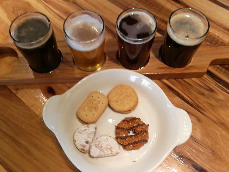 Brewery Cookie Tastings