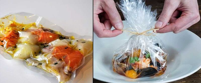High-Temperature Cooking Bags