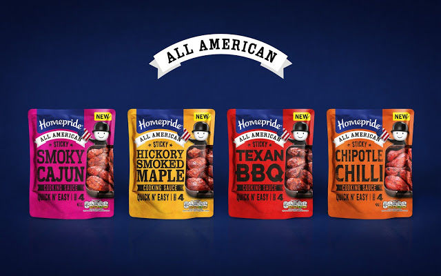 American Cooking Sauce Branding