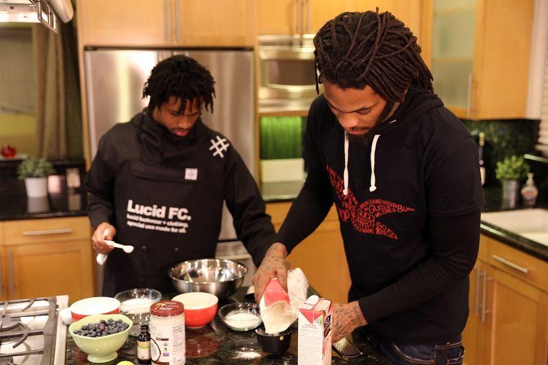 Vegan Rapper Cooking Shows