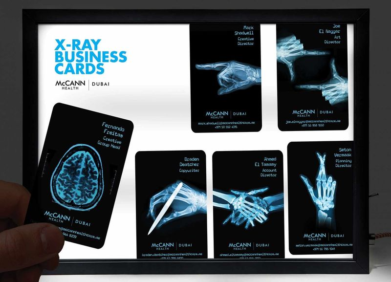 X-Ray Business Cards