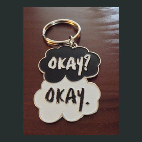 Book Cover-Inspired Keychains