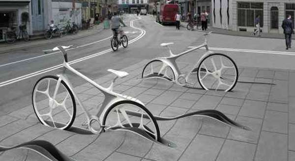 Sunken Cycle Stands