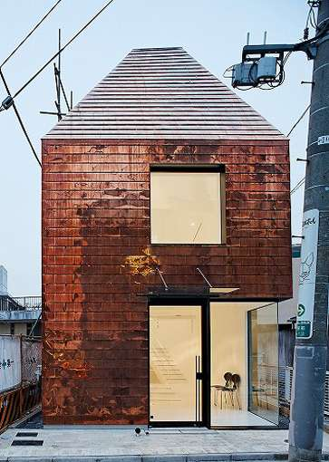 Copper Clad Houses The Barnacle Building By Archivision