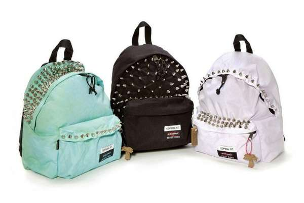 Stylishly Studded Knapsacks
