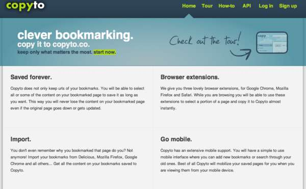 Selective Browser Bookmarking