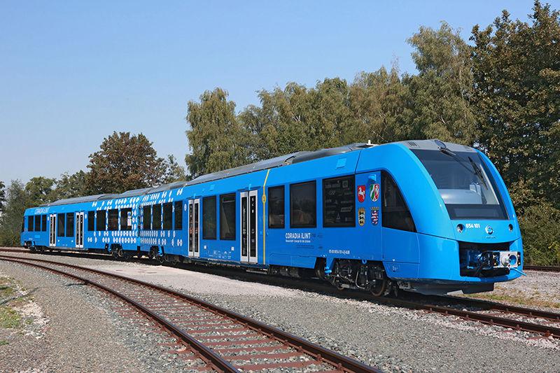 Zero-Emission Hydrogen Trains