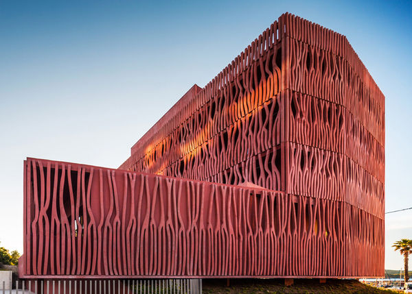 Coral-Inspired Architecture