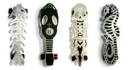 Sculpted Skateboards