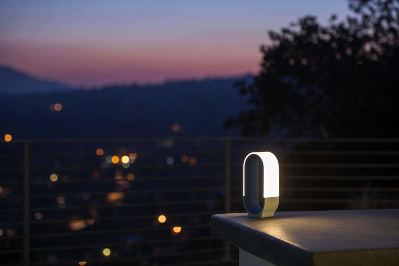 Portable Phone-Charging Lamps