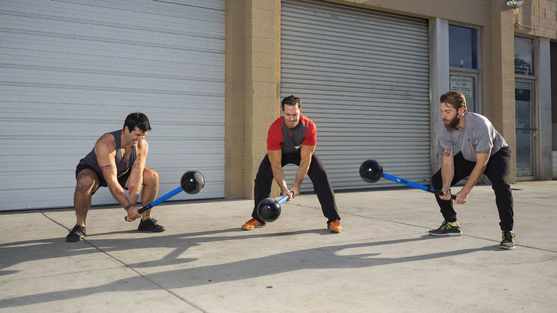 Core Workout Sledgehammers