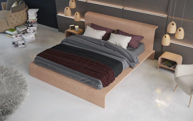 Electromagnetic Wave-Blocking Beds