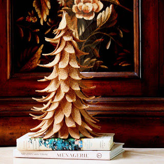 Eclectic Cork Tree Displays