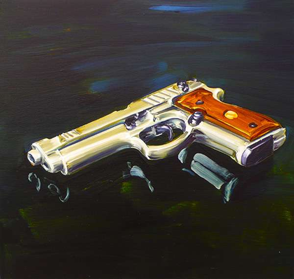 Pistol Oil Paintings