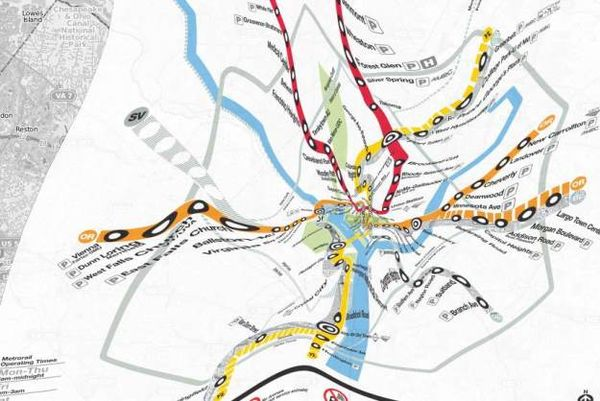 Topographically Accurate Transit Maps