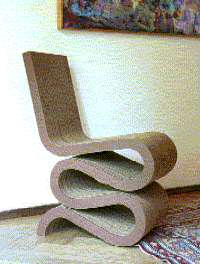 Corrugated Cardboard Furniture