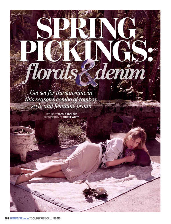 Cosmopolitan Australia 'Spring Pickings'