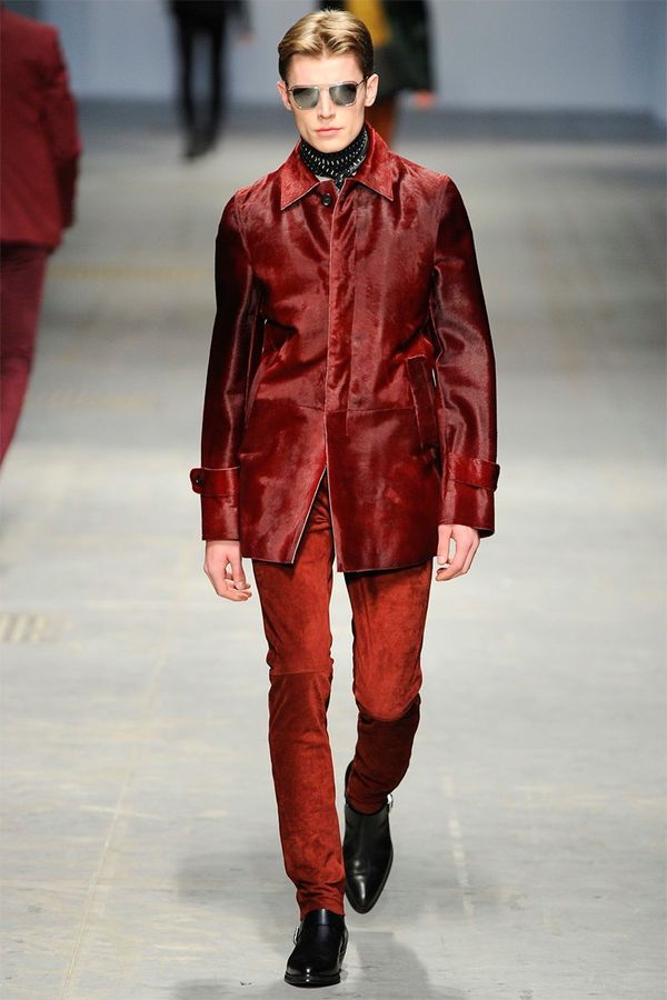 Flamboyant Rocker-Inspired Menswear