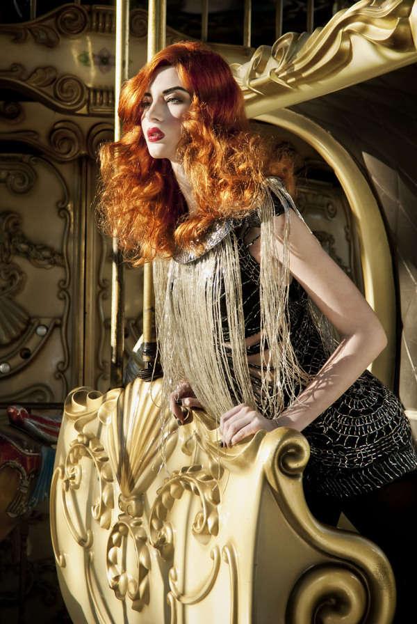 Elegant Circus Editorials Costume Style