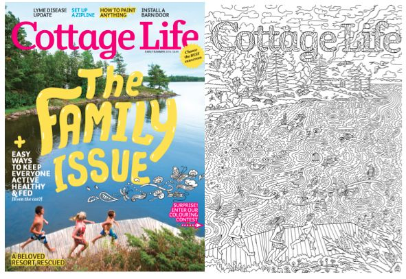 Coloring Cottage Magazines