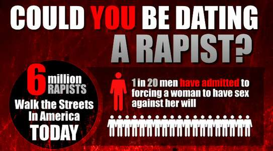could you be dating a rapist