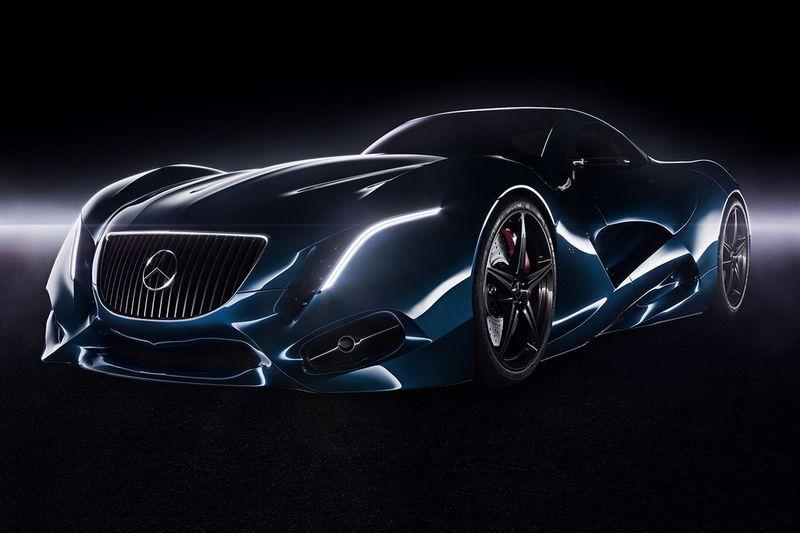 Curvilinear Concept Coupe Designs