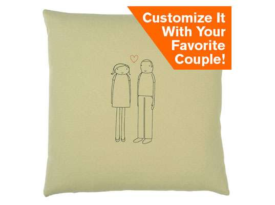 Customizable Couple Cushions