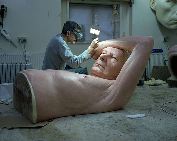 Hyperreal Spouse Sculptures