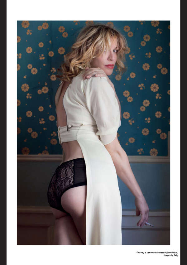 Courtney Love Contributor Magazine