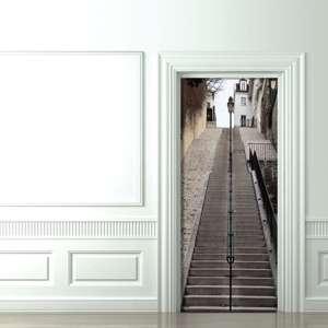 Trippy Door Decals
