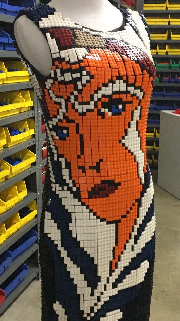 LEGO-Made Dresses
