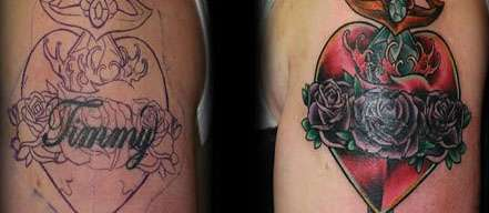 Cover Tatto on Inked Body Art Corrections   These Cover Up Tattoos Can Dissolve Body
