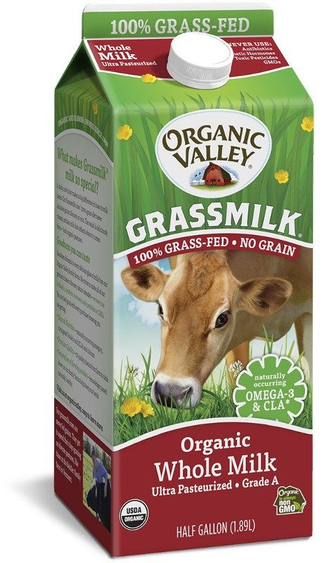 Grass-Fed Milk Cartons