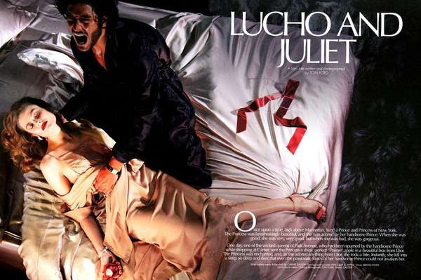 CR Fashion Book 'Lucho and Juliet'