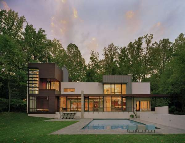 Crab Creek House by Robert Gurney Architects
