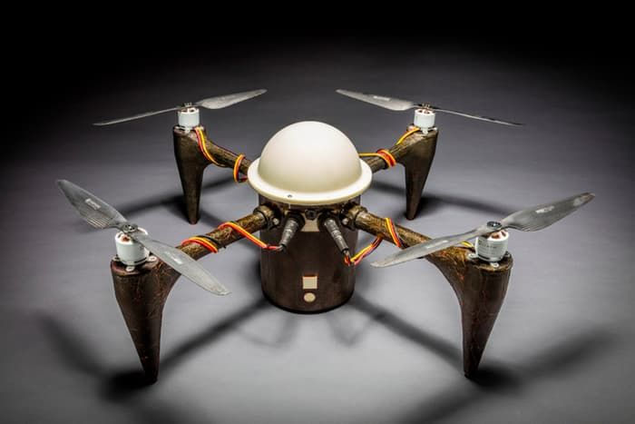 Amphibious Underwater Drones