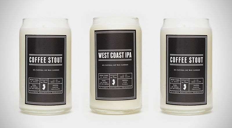 Crafty Beer-Scented Candles