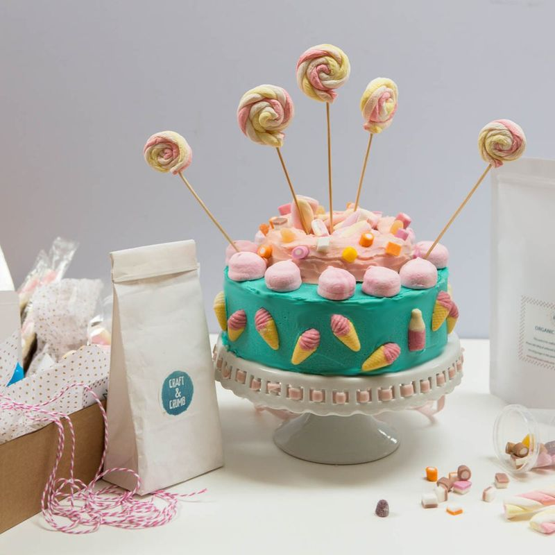 DIY Cake Kits : Craft & Crumb