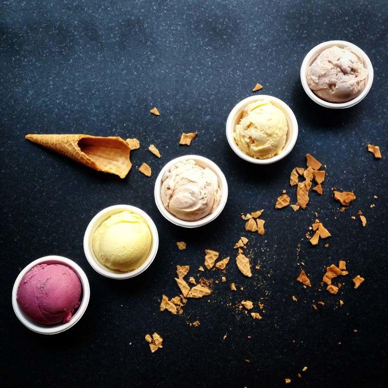 Gourmet Ice Cream Cafes