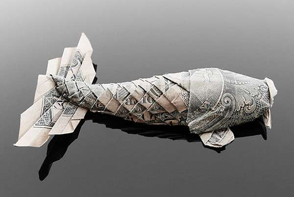 Pricey Paper Origami: Artist Craig Folds Five Uses Cash to ... - photo#9