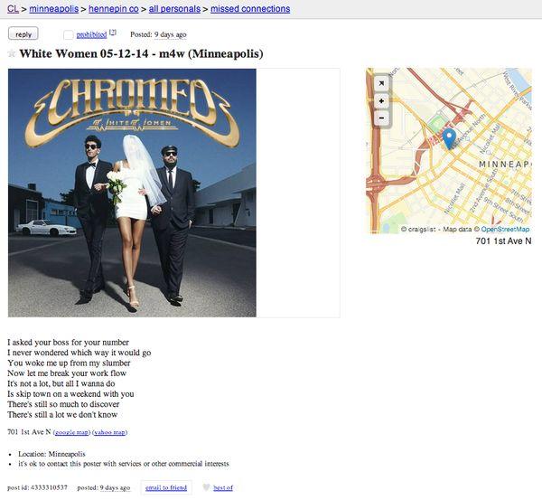 Album-Promoting Personal Ads
