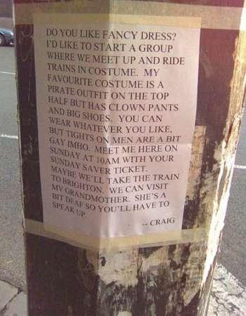 Guerrilla Craigslist Parodies
