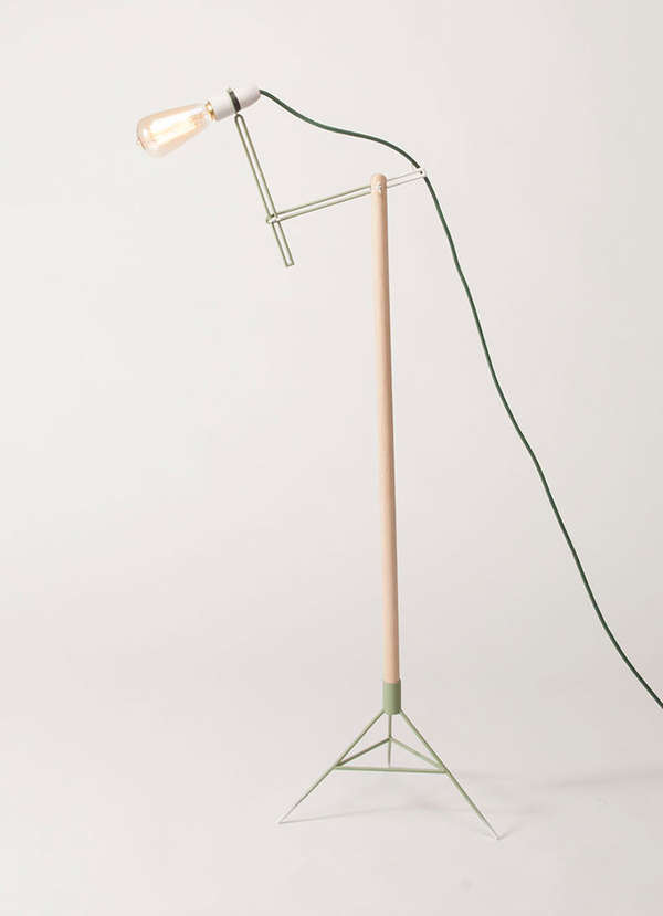 Minimalist Bird-Inspired Lamps