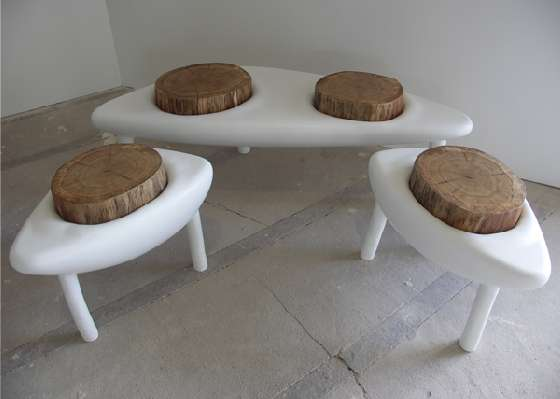 Tree Stump Seating