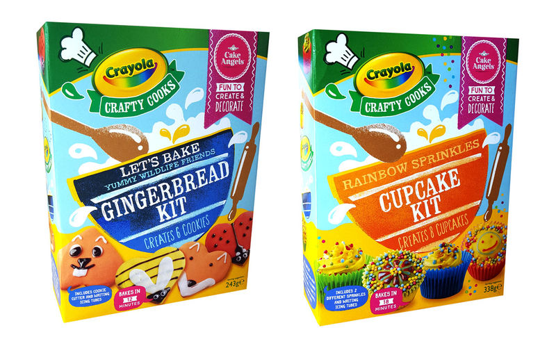 Customizable Baking Kits Crayola Baking Kits