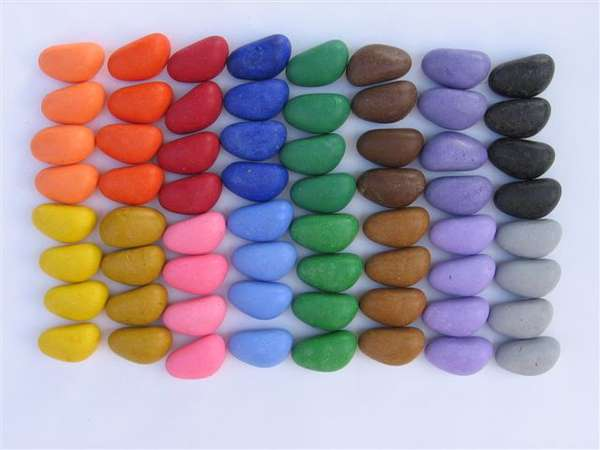 Stone-Shaped Coloring Tools