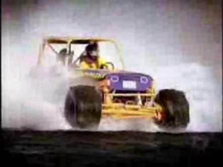 Car Racing on Water
